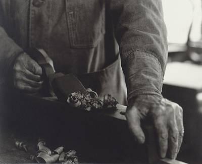 Hands Of Shaker Brother Ricardo Belden Art Print by Everett