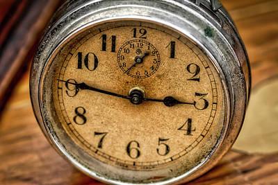 Hands Of Time Art Print by Irwin Seidman