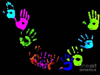Photograph - Hands Of Unity #2 by Ed Weidman