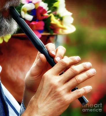Hands Photograph - Hands That Whistle  by Steven Digman