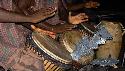 Photograph - Hands To Drums Hearts To God by Wayne King