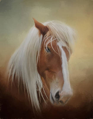 Photograph - Handsome Belgian Horse by David and Carol Kelly