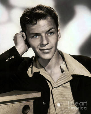 Photograph - Handsome Frank Sinatra by Doc Braham