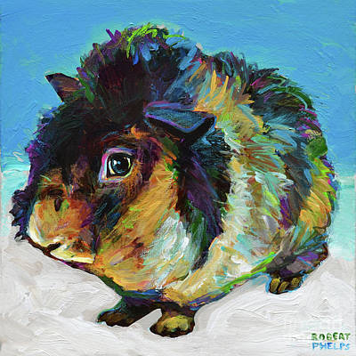 Painting - Handsome Harvey by Robert Phelps