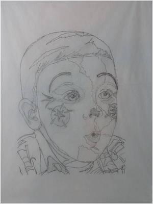 Drawing - Handsome Lad II  by Joel Deutsch
