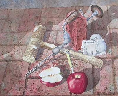 Painting - Handyman's Snack II by Tony Caviston