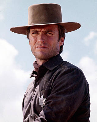 1960s Movies Photograph - Hang Em High, Clint Eastwood, 1968 by Everett