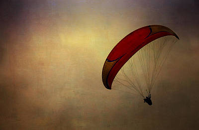 Photograph - Hang Gliding In Peru by Kathryn McBride