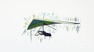 Photograph - Hang Gliding Nbr 10 by Scott Cameron