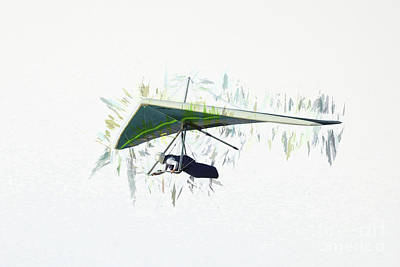 Photograph - Hang Gliding Nbr 2  by Scott Cameron