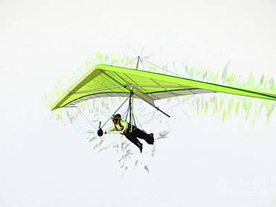 Photograph - Hang Gliding Nbr 3 by Scott Cameron