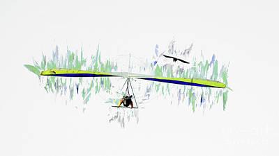 Photograph - Hang Gliding Nbr 5 by Scott Cameron