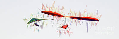 Photograph - Hang Gliding Nbr 9 by Scott Cameron