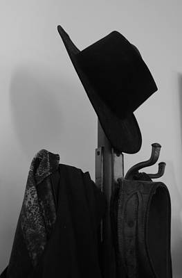 Photograph - Hang Your Hat by Renee Holder