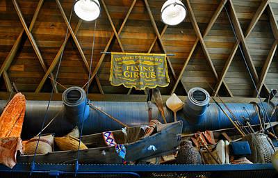 Photograph - Hangar Bar Interior Work E by David Lee Thompson