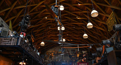 Photograph - Hangar Bar Roof by David Lee Thompson