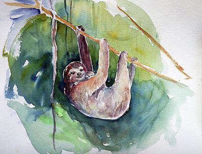 Painting - Hangin' In There by Christie Michelsen
