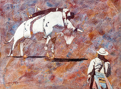 American Watercolor Society Painting - Hangin On by Don Harvie