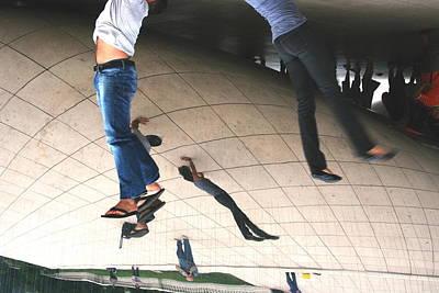 Photograph - Hanging Around Millennium Park by David Coblitz