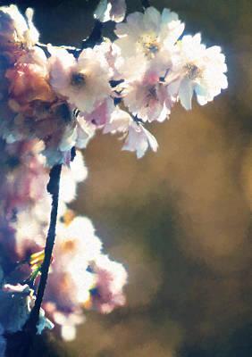 Digital Art - Hanging Blossoms by Patrick Turner