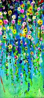 Painting -   Hanging Bouquet by Esther Woods