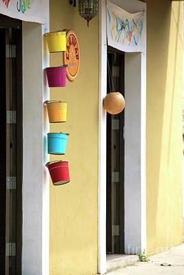 Photograph - Hanging Buckets by John Rizzuto