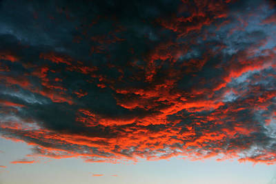 Photograph - Hanging Clouds by David Lee Thompson