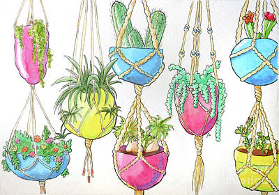 Painting - Hanging Garden by Whitney Morton