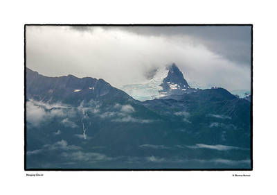 Photograph - Hanging Glacier by R Thomas Berner