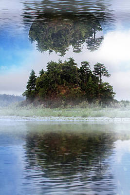 Photograph - Hanging In The Clouds by Debra and Dave Vanderlaan