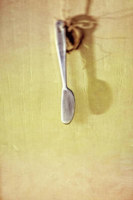 Photograph - Hanging Knife On Jute Twine by YoPedro
