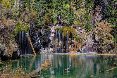 Photograph - Hanging Lake by Chuck Jason