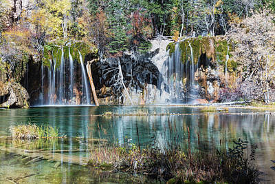 Photograph - Hanging Lake Colorado by Jemmy Archer