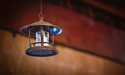 Photograph - Hanging Lantern by April Reppucci