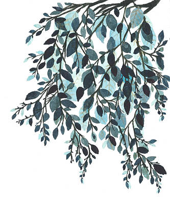 Painting - Hanging Leaves II by Garima Srivastava