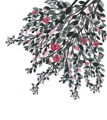 Painting - Hanging Leaves IIi by Garima Srivastava