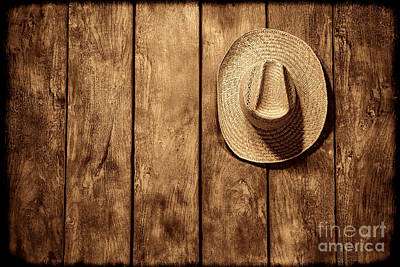 Photograph - Hanging My Hat by American West Legend By Olivier Le Queinec