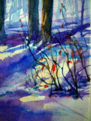 Painting - Hanging On by Judy Fischer Walton