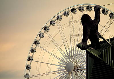 Photograph - Hanging On The Wheel by Valentino Visentini