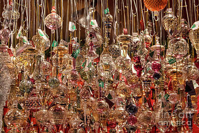 Photograph - Hanging Ornaments by Steven Parker
