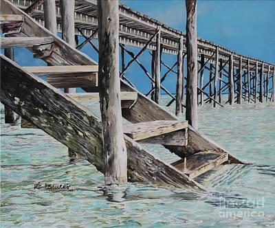 Hanging Out At Cherokee Long Dock Original