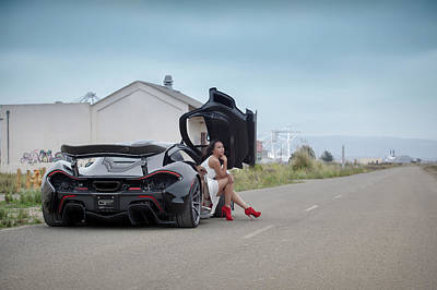Photograph - Hanging Out In A #mclaren #mso #p1 by ItzKirb Photography