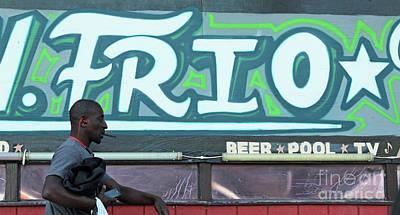 Photograph - Hanging Out On Frio Street by Joe Jake Pratt