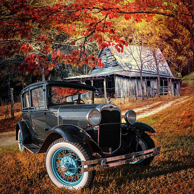 Photograph - Hanging Out On The Backroads by Debra and Dave Vanderlaan