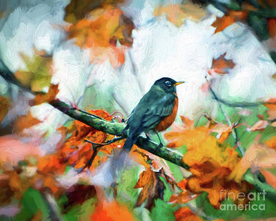 Photograph - Hanging Out With Autumn by Kerri Farley