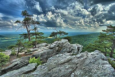 Photograph - Hanging Rock Overlook by Adam Jewell