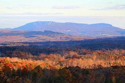 Photograph - Hanging Rock Overlook by Kathryn Meyer