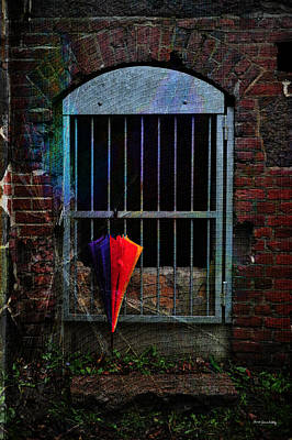 Photograph - Hanging Umbrella by Randi Grace Nilsberg