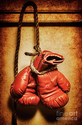 Hanging Up The Gloves Art Print by Jorgo Photography - Wall Art Gallery