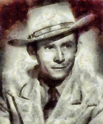 Elvis Presley Painting - Hank Williams Country Star by John Springfield